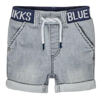 material Boy Shorts / Bermudas Ikks XS25011-94 Grey