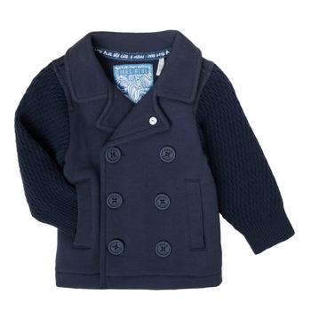 material Boy Jackets / Cardigans Ikks XS17001-48 Marine