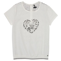 material Girl short-sleeved t-shirts Ikks XS10242-19-C White