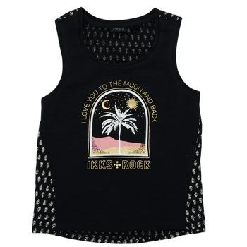 material Girl short-sleeved t-shirts Ikks XS10012-02-J Black
