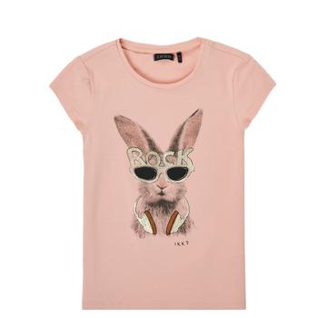 material Girl short-sleeved t-shirts Ikks XS10342-32-J Pink