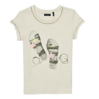 material Girl short-sleeved t-shirts Ikks XS10132-11-C White