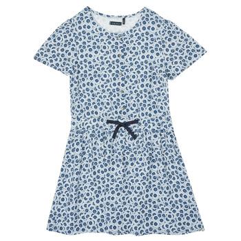material Girl Short Dresses Ikks XS30102-48-C Blue