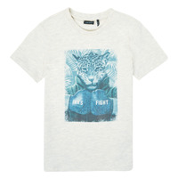 material Boy short-sleeved t-shirts Ikks XS10183-22-C White