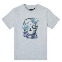 material Boy short-sleeved t-shirts Ikks XS10243-21-C Grey