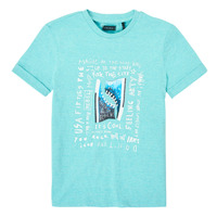 material Boy short-sleeved t-shirts Ikks XS10253-43-C Blue