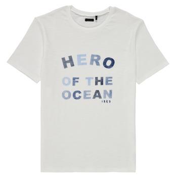 material Boy short-sleeved t-shirts Ikks XS10343-19-C White