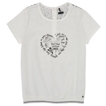 material Girl short-sleeved t-shirts Ikks XS10242-19-J White