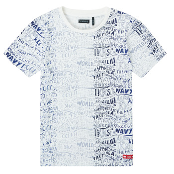 material Boy short-sleeved t-shirts Ikks XS10063-19-J Multicolour