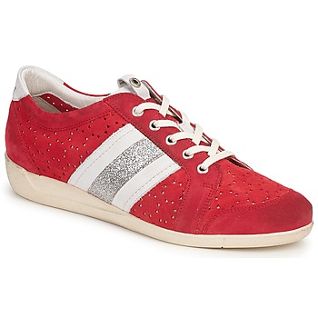 Shoes Women Low top trainers Janet Sport MARGOT ODETTE Red