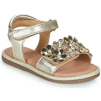 Shoes Girl Sandals Mod'8 PARLOTTE Gold