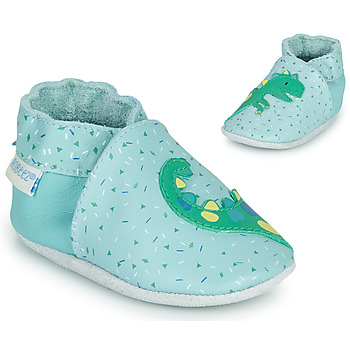 Shoes Boy Slippers Robeez SMILING DINO Blue