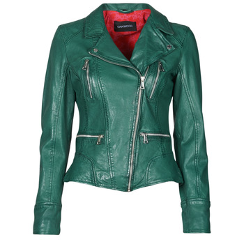 material Women Leather jackets / Imitation le Oakwood CAMERA Green