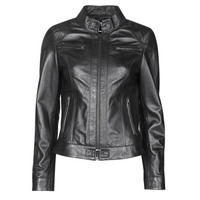 material Women Leather jackets / Imitation le Oakwood LINA Black