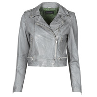 material Women Leather jackets / Imitation le Oakwood KYOTO Grey