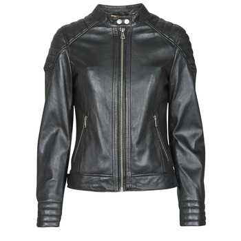 material Women Leather jackets / Imitation le Oakwood ELLA Black