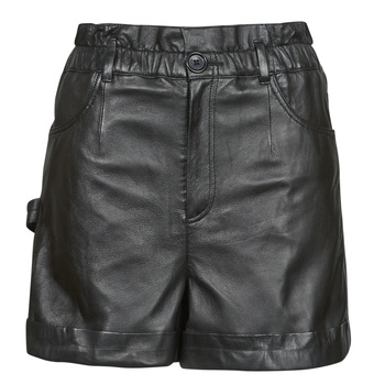 material Women Shorts / Bermudas Oakwood JANNY Black