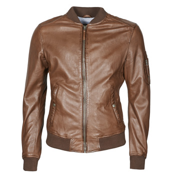 material Men Leather jackets / Imitation le Oakwood UNITED Brown