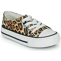 Shoes Girl Low top trainers Citrouille et Compagnie OTAL Leopard