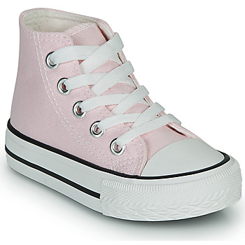 Shoes Girl High top trainers Citrouille et Compagnie OUTIL Pink
