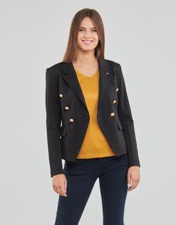 material Women Jackets / Blazers Les Petites Bombes AGATHE Black