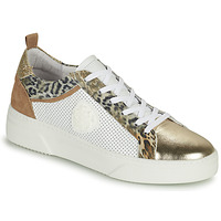 Shoes Women Low top trainers Philippe Morvan SOAPY V3 White / Brown