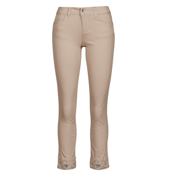 material Women 5-pocket trousers Liu Jo IDEAL Beige