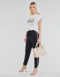 material Women Wide leg / Harem trousers Liu Jo WA1111-T7982-93923 Marine