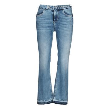 material Women bootcut jeans Liu Jo MONROE Blue / Medium