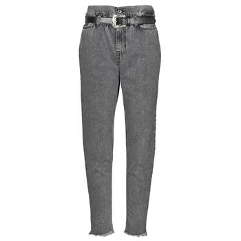 material Women straight jeans Liu Jo KENDY Grey