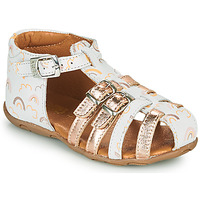 Shoes Girl Sandals GBB RIVIERA Pink
