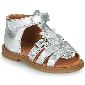 Shoes Girl Sandals GBB CARETTE Silver