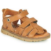 Shoes Boy Sandals GBB JULIO Brown