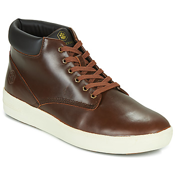 Shoes Men Low top trainers Lumberjack WINTER CHUCK Brown