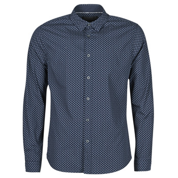 material Men long-sleeved shirts Le Temps des Cerises  Blue