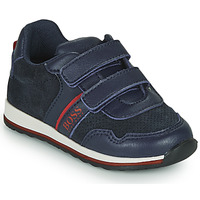 Shoes Boy Low top trainers BOSS NIKKA Blue