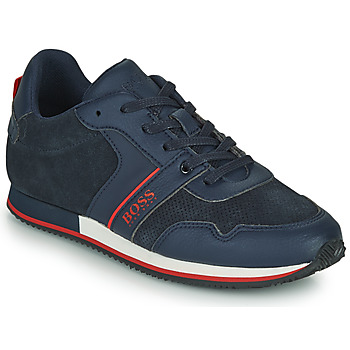 Shoes Boy Low top trainers BOSS HOLLA Blue
