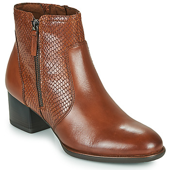 Shoes Women Ankle boots Tamaris CAXIAS Brown