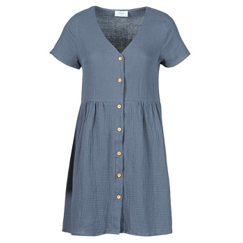 material Women Short Dresses Betty London MARDI Grey