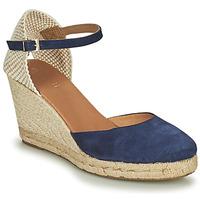 Shoes Women Sandals Minelli RAYANA Marine / Beige