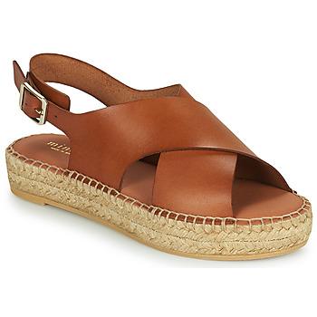 Shoes Women Sandals Minelli MOULTI Brown