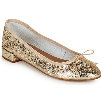 Shoes Women Ballerinas Minelli PLIVIA Gold