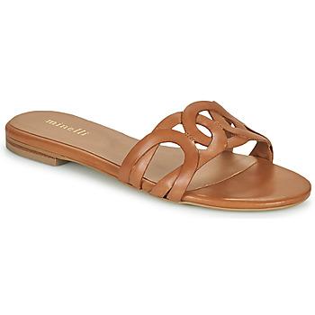 Shoes Women Mules Minelli NANCIA Brown