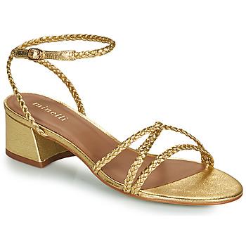 Shoes Women Sandals Minelli HARIETTE Gold