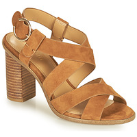 Shoes Women Sandals Minelli CLAVIA Brown