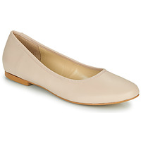 Shoes Women Ballerinas So Size JARALUBE Beige