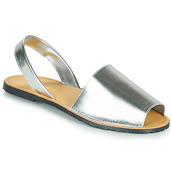 Shoes Women Sandals So Size LOJA Silver