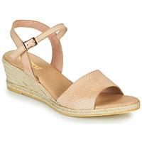 Shoes Women Sandals So Size OTTECA Beige