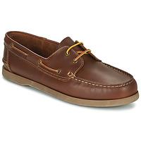 Shoes Men Boat shoes So Size MALIK Tan