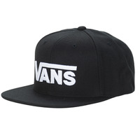 Clothes accessories Caps Vans DROP V II SNAPBACK Black / White